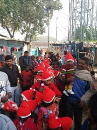 Celebrating Xmas & New year with poor children's_5